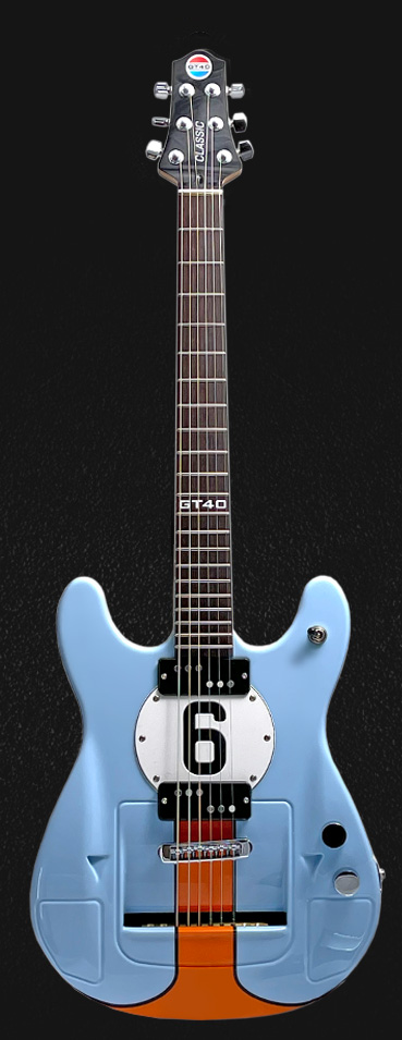 1969 limited edition GT40 Victory Series guitar
