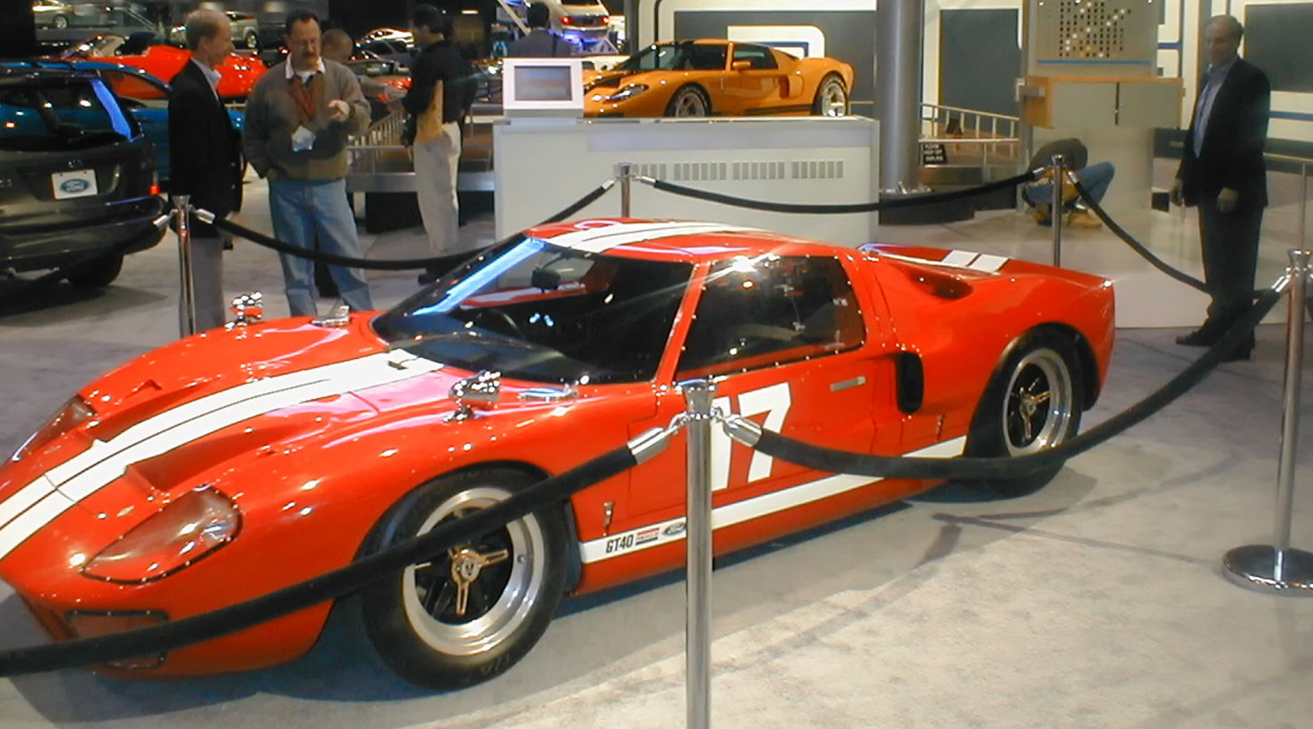 GT40 Mark V chassis 1136