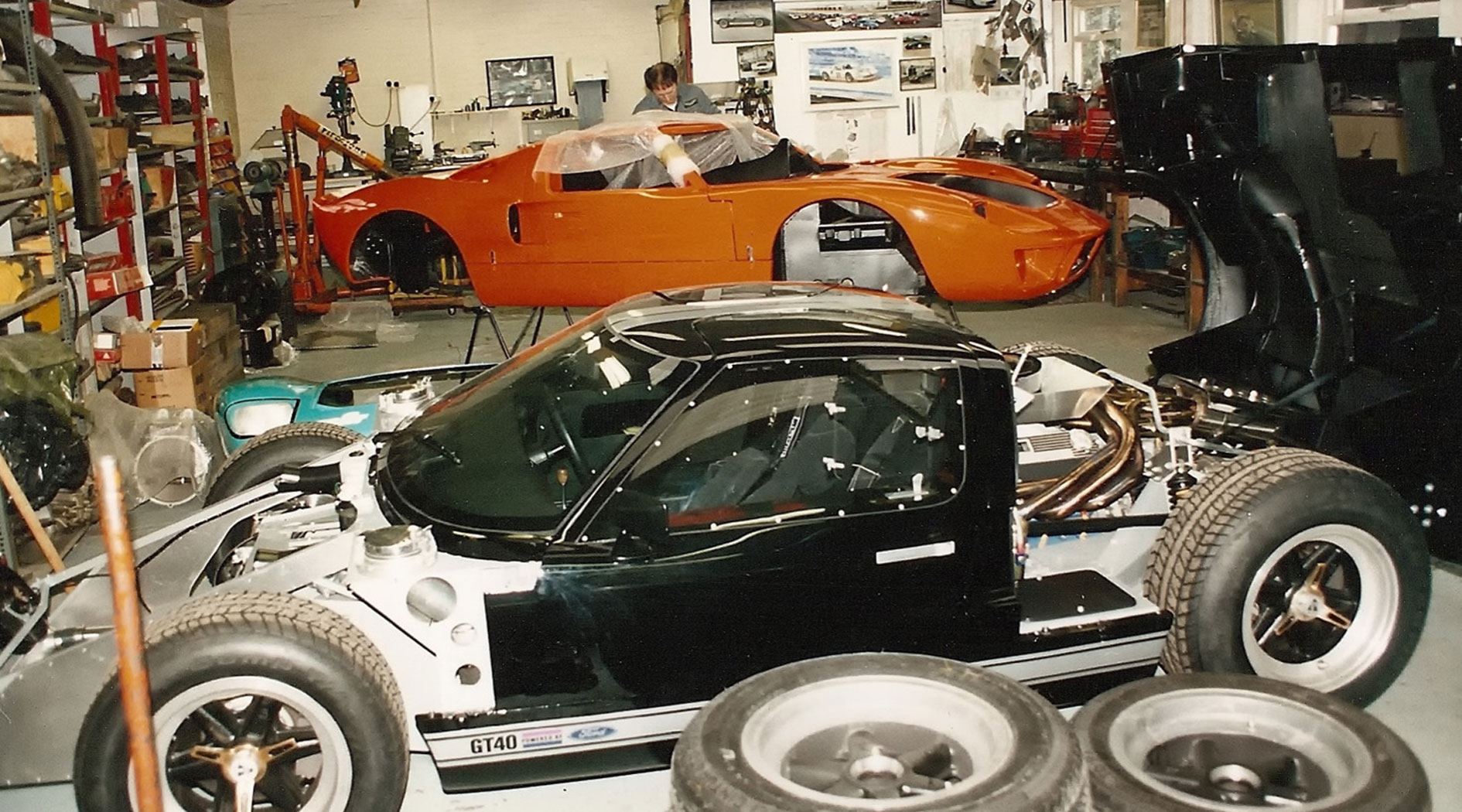 GT40 Mark V chassis 1138